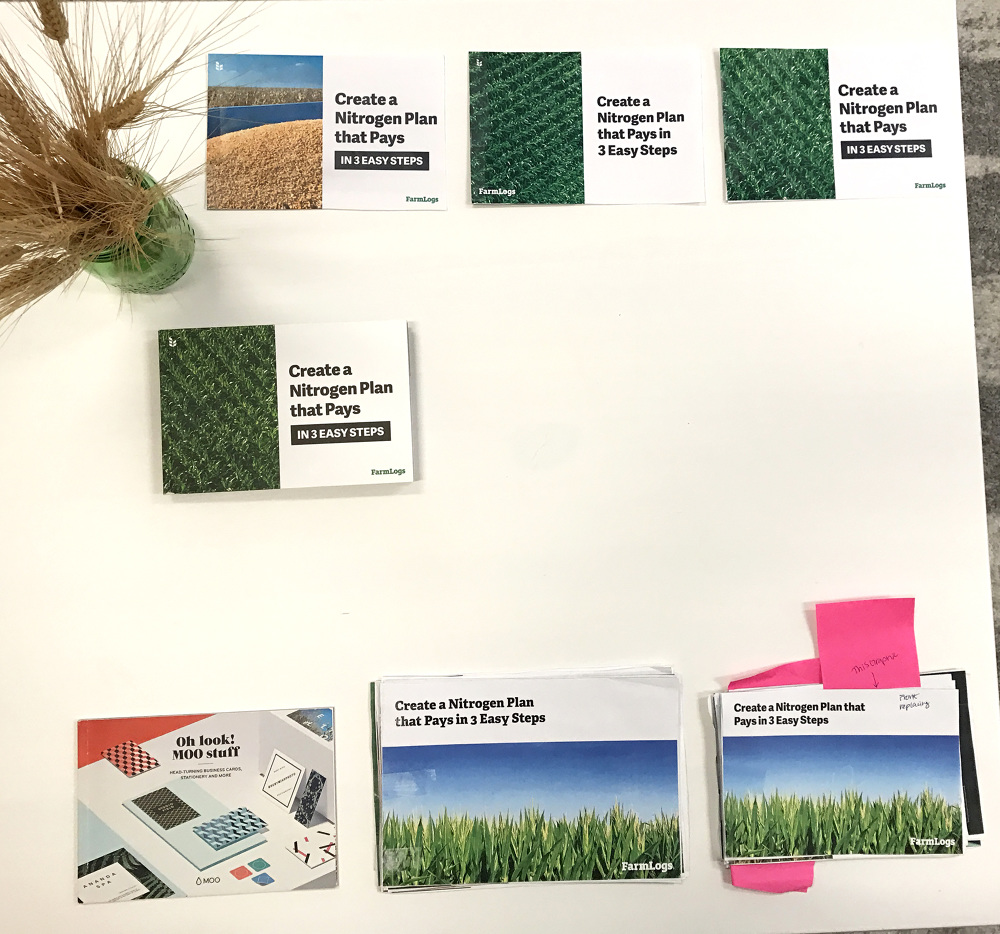 Farmlogs nitrogen booklet kelsey trabue the piece was originally inspired by a booklet we received from moo where get our business cards printed until we got this booklet printed we didnt have reheart Images