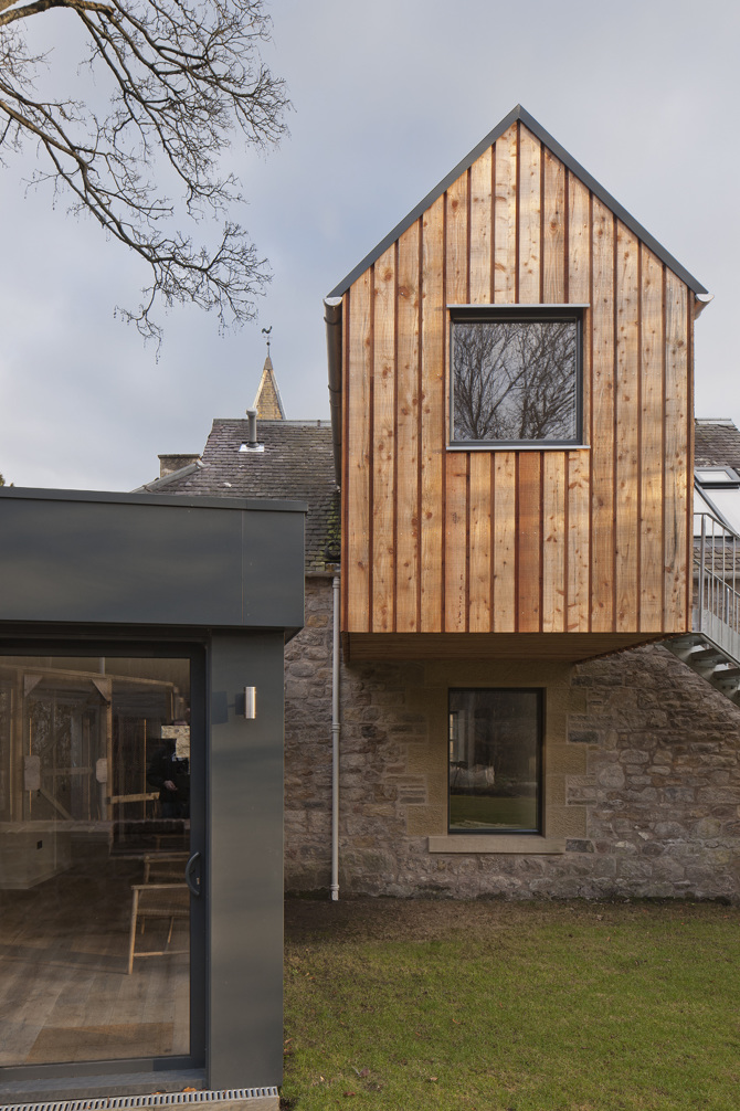 Newbattle Studio Rural Design Architects Isle Of Skye